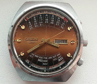 Orient Calendar Automatic - For Repair Or  Parts