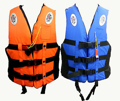 5 Sizes Adult Kayak Ski Buoyancy Aid Sailing Watersport Impact Life Jacke