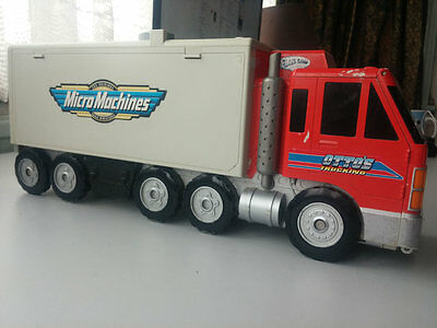 Micro Machines Super City HiWays & ByWays OTTO's Truck Play set RARE Vintage 98