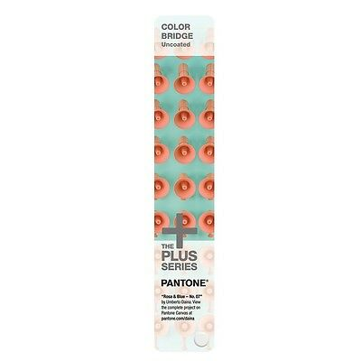 PANTONE Color Bridge Uncoated 1845 Solid & CMYK colours.  Only 2 at this price.