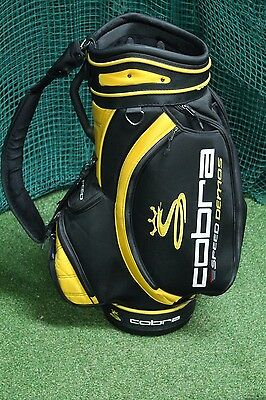 Cobra Speed Demos Tour Staff Bag / Black Yellow / 6-Way Divider / 51338