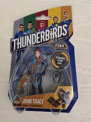 Thunderbirds Are Go TB5 John Tracy Action Figure BNIB