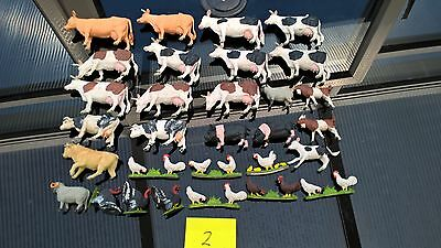 Vintage Britain's Farm Animals 30 pieces early 60's UK made