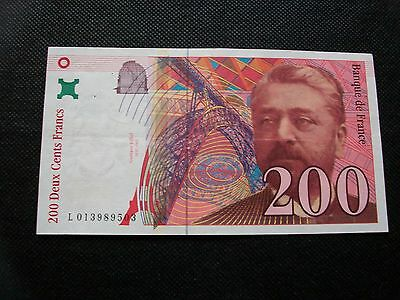 Billets France 200 Francs 1996