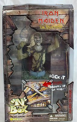 Iron Maiden Live after Death 21st Century Jack in the Box - Boxed - Art Asylum