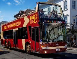 San Fransisco Big Bus Unlimited Ticket