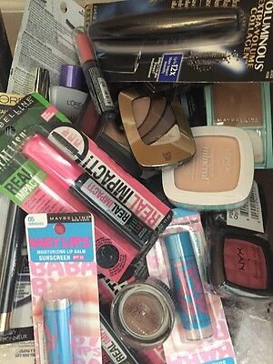 Premium Mixed Cosmetics Lot 30 Pieces -MAYBELLINE LOREAL COVERGIRL ALMAY NYX