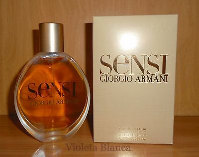 Eau de parfum SENSI de Giorgio Armani. 100 ml. Spray. NUEVO / NEW