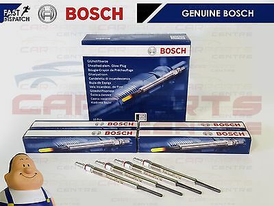 FOR AUDI A3 2.0 TDi 4 GENUINE BOSCH DIESEL HEATER GLOW PLUG PLUGS SET AZV BKD