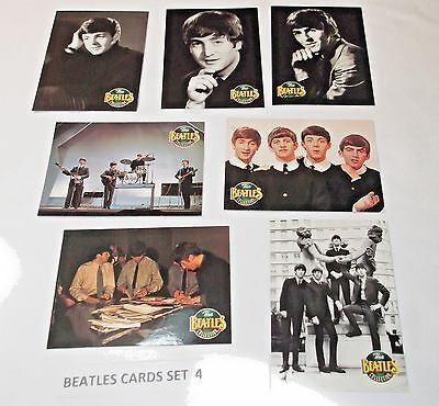 The Beatles Collection River Group/Apple Corps (My set 4)  7 different cards