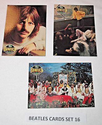 The Beatles Collection River Group/Apple Corps (My set 16)  3 different cards