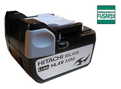 FF: BATTERIA LITIO HITACHI BSL1430 14,4V 3,0 Ah SOLO ORIGINALI NO EQUIVALENTI