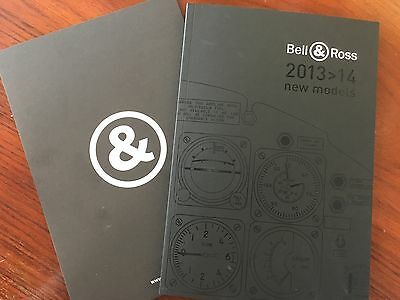 Bell & Ross Watch New Catalogue Collection 2013-14.  80 Pages paperback