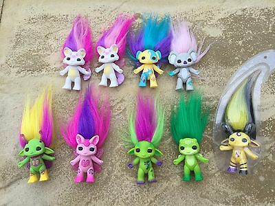 Miscellaneous loose Zelfs: series 5 and playset exclusives