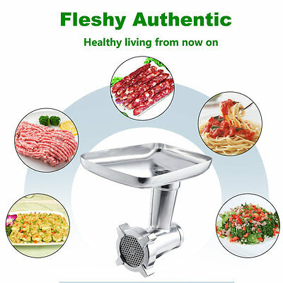 Kitchen helper Food Grinder Attachment for Multi-Function Stand Food Mixers MU