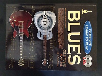 Complete Learn To Play Blues Guitar Manual(CD Edition)