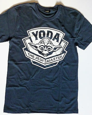 Official STAR WARS Herren T-Shirt Meister YODA YEDI MASTER M L XL XXL Mens Shirt