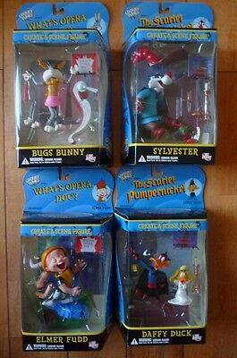 Looney Tunes Dc Direct 4 New Figures Bugs Bunny Sylvester Elmer Fudd Daffy Duck