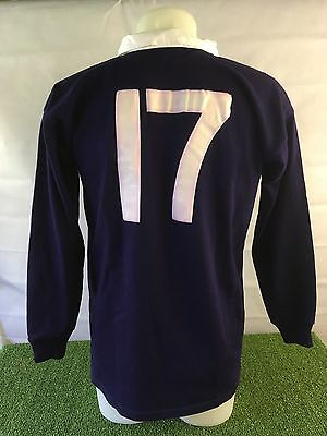 Scotland #17 Match Worn/Issued Rugby Shirt V Wales - Umbro Memorabilia Jersey