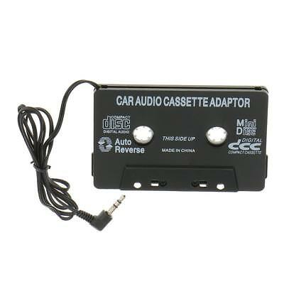 Car Audio Cassette Tape Adapter with 3.5MM AUX Cable For SmartPhone Ipod MP3