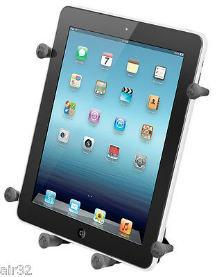 """RAM X-Grip Holder fits 10"""" Tablets With/Without Case, Including Heavy-Duty Cases"""