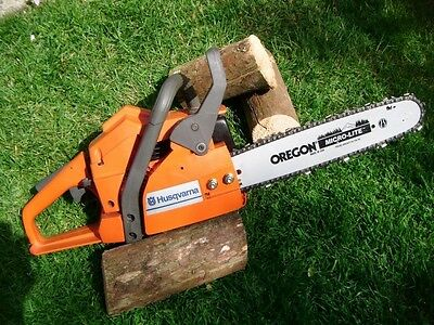 Husqvarna Petrol Chainsaw, 136 Air Injection, 12 inch bar (excellent condition)