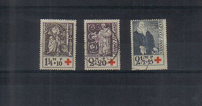 Finland 1933 Red Cross Fund set used