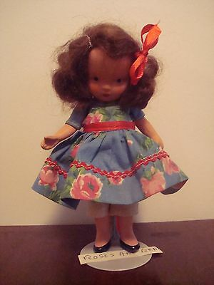 """Nancy Ann storybook doll """"Roses are Red"""" pudgy"""