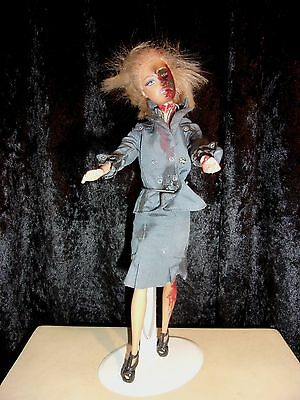 Germanic Wwii Zombie  Barbie Collectable...nasty Eh ?