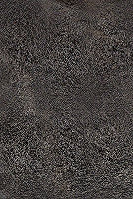 45 sq ft Worn ( intentional) distressed Black  Leather Hide /skin for Upholstery