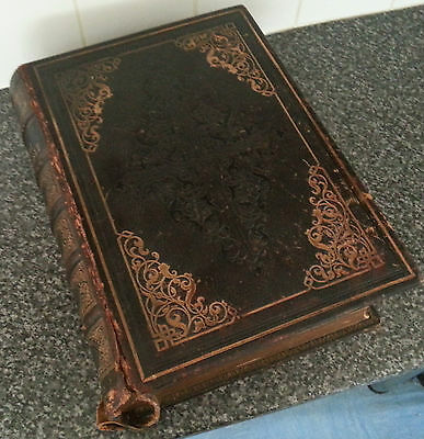 * RARE * Imperial Family Bible 1844 * Antique * Very large, Massive Bible *