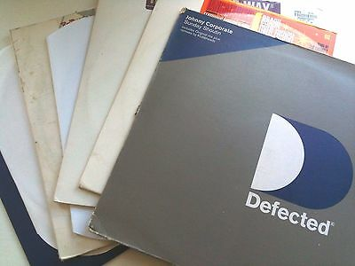 "7 X Defected / Subliminal Records Deep House 12"" Vinyl Record Collection Dj Lot2"