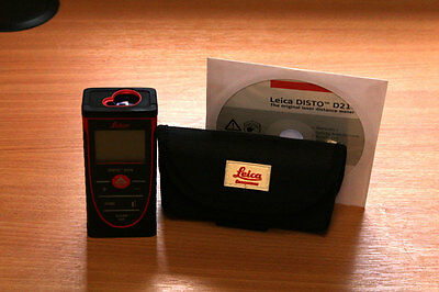Leica DISTO D210 Laser Distance Meter (Used)