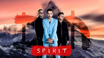 Depeche Mode Global Spirit Tour - 2 Floor Tickets PARTERRE WW - Parking included