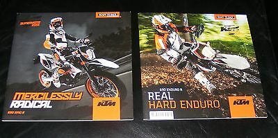 KTM 690 SMC R  Supermoto & 690 Enduro R Brochure 2015