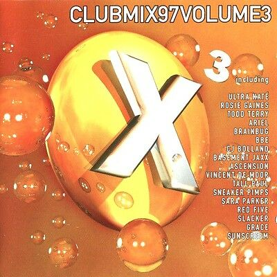 Club Mix 97 Vol 3 - 2 X Cds Mixed Oldskool Ibiza 90S Trance House Cd Cdj Dj