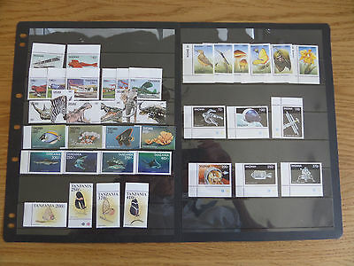 Tanzania Modern unmounted mint collection
