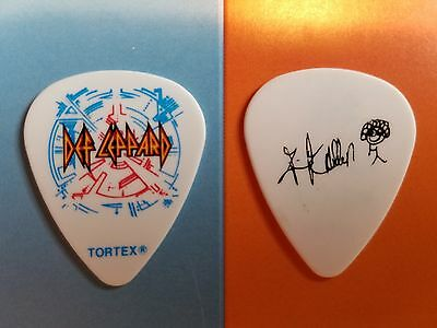 DEF LEPPARD stage used concert tour guitar pick Las Vegas Viva Hysteria