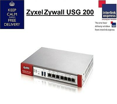 Zyxel Zywall USG 200 With Power Supply