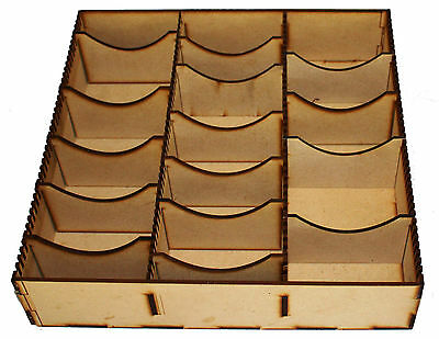 Plain Mdf Storage Box For Lord Of The Rings Yu-Gi-Oh Pokemon Trading Cards