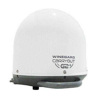 Winegard GM-6000 Carryout G2+ Automatic Portable Satellite TV Antenna with Power
