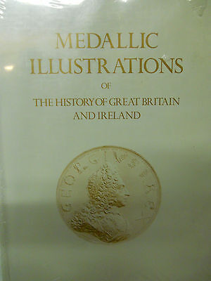 PLATES FOR MEDALLIC ILLUSTRATIONS OF BRITISH HISTORY. Reprint in a single vol.