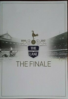 Tottenham Spurs v Manchester United FINALE booklet (after game show) 14 May 2017