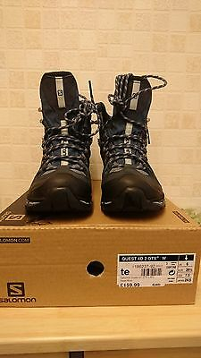 Womens Salomon Quest 4D GTX Hiking Walking Boots size 6