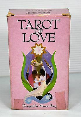 Vintage Tarot of Love  78 Cards Deck 1989 Fist Edition Printed in Switzerland