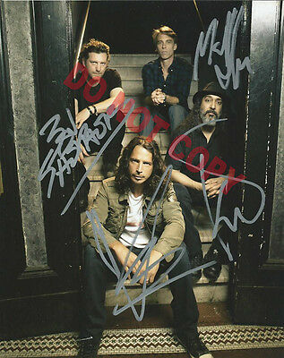 REPRINT RP 8x10 Signed Autographed Photo Picture: Chris Cornell, Soundgarden