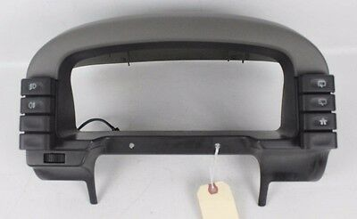 1999-2002 Land Rover Discovery II SE7 Speedometer Cluster Dash Bezel with Switch