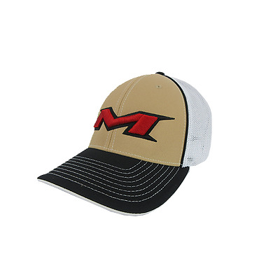 Miken Hat by Pacific (404M) Black/White/Gold/Blk/Red LG/XL (7 3/8- 8), NEW