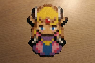 Princess Zelda Pixel Art Bead Sprite from the Legend of Zelda Series