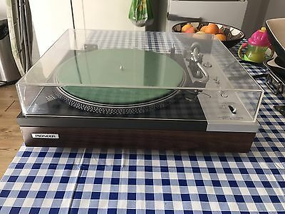 Vintage Pioneer PL 510A Direct Drive turntable record player